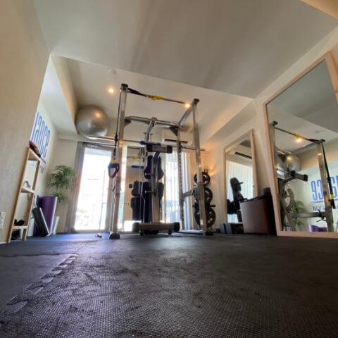 パーソナルトレーニングジム麻布十番店トレーニングルーム