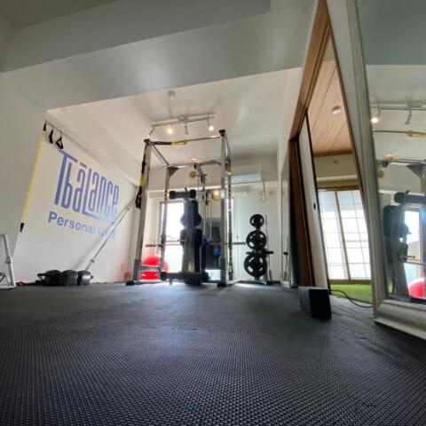 パーソナルジムティーバランス藤沢店トレーニングルーム