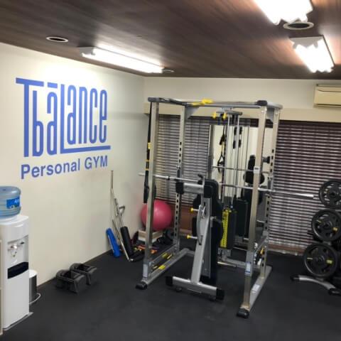 パーソナルトレーニングジムティーバランス池袋西口店の筋トレグッズ