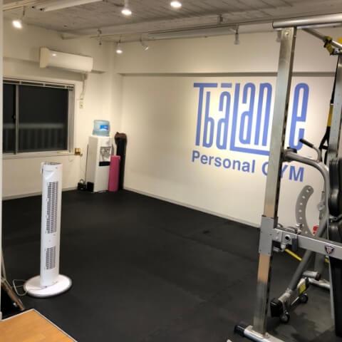 パーソナルトレーニングジムティーバランス中目黒店トレーニングルーム
