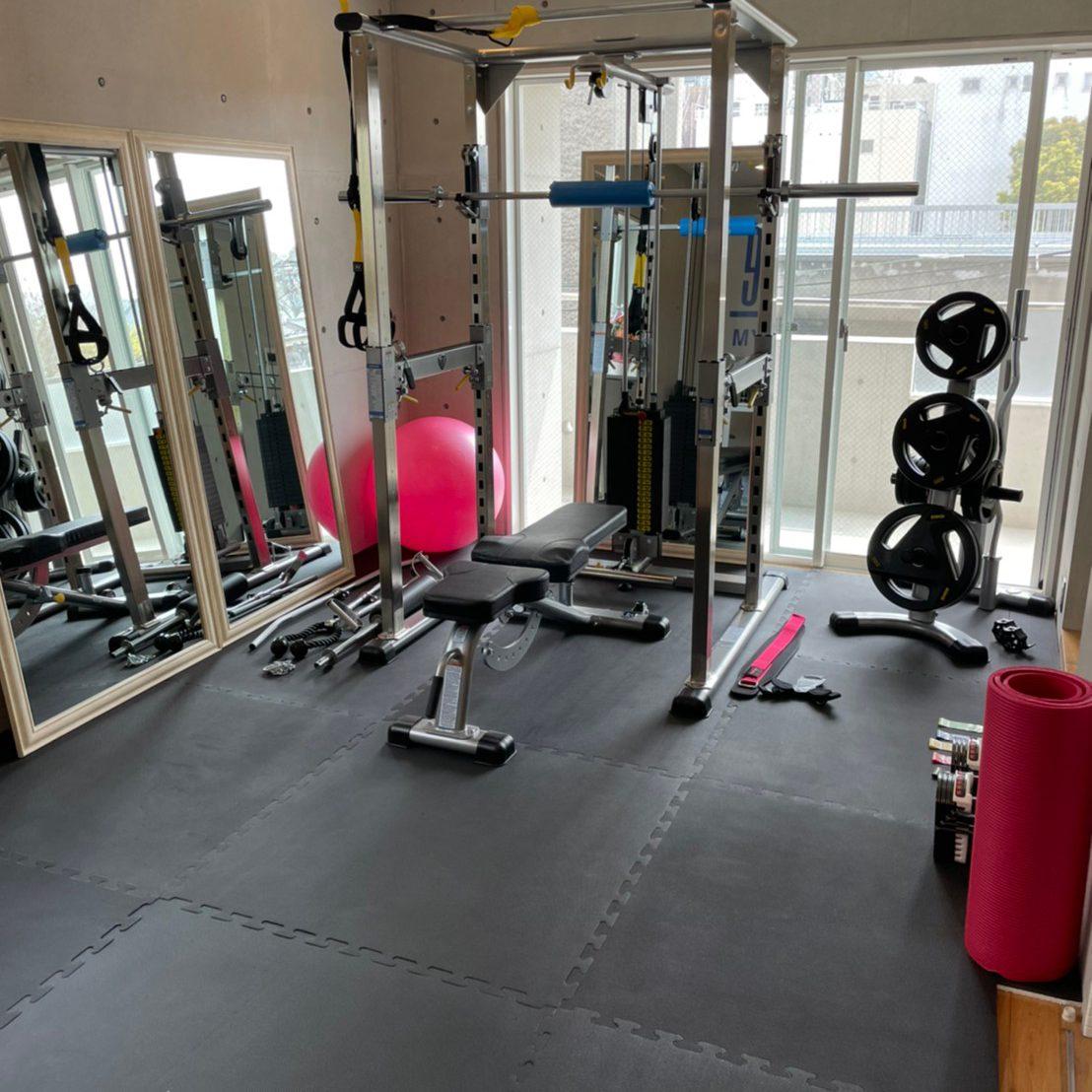 パーソナルジムティーバランス天王寺店トレーニングルーム