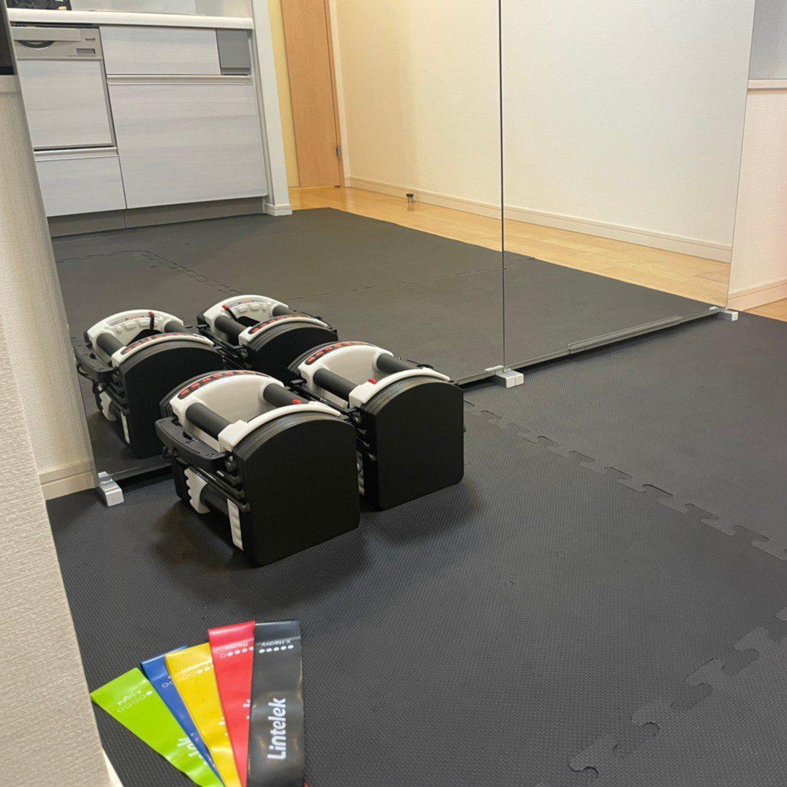 パーソナルジムティーバランス新宿南口店のトレーニング道具